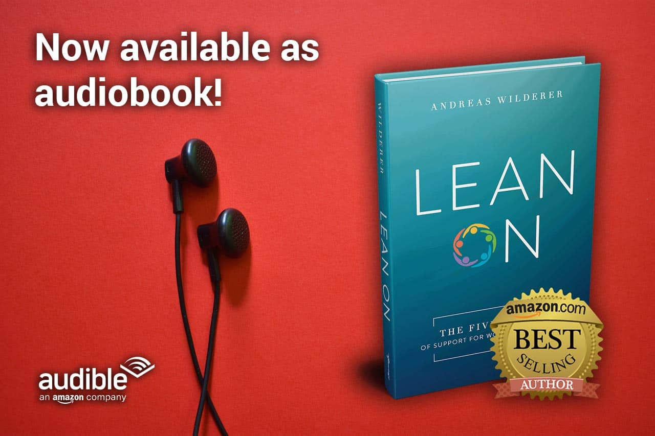 Lean On Audiobook Announcement Banner